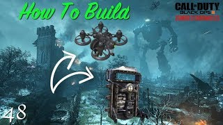 BO3 Zombies - Tips & Tutorials EP #48! How To BUILD The Shield & Maxis Drone On Origins! All Parts!