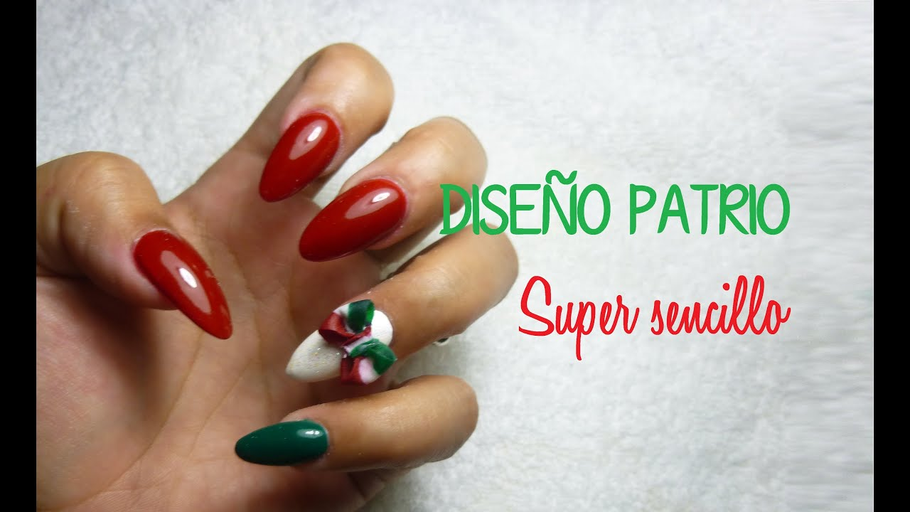 Diseño de uñas acrilicas \