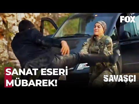 Çiğdem'den Efsane Dövüş Performansı - Savaşçı 72. Bölüm