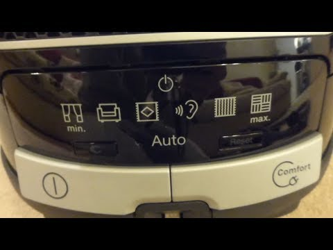 Miele S8 / C3 Vacuum cleaner - Bag full indicator problem. (Unresolved)