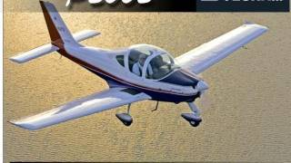 Tecnam Sierra P2002 light sport aircraft.