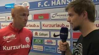 Interview mit Karsten Baumann vor dem Heimspiel gegen Energie Cottbus