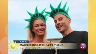 """Magnus Carlsson & Jessica Andersson: """"Det kan bli ganska mycket bus"""" - Nyhetsmorgon (TV4)"""