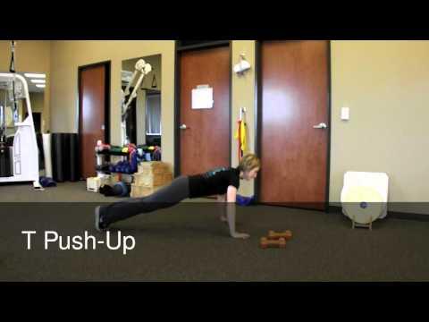 13. Rotational Push-up