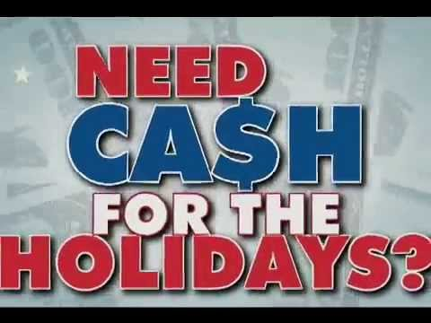 Bad Credit Car Loans >> TitleMax Holiday Cash - YouTube