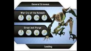 Star Wars: The Clone Wars - Lightsaber Duels (Wii) Gameplay: General Grievous vs General Grievous