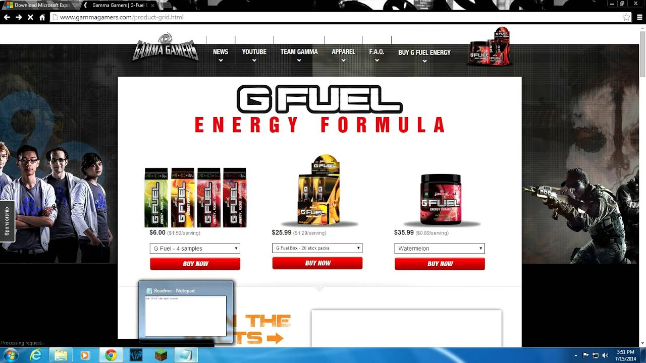 HOW TO GET GAMMA LABS FOR FREE /W SHAKER* (FULL TUTORIAL) JULY ...