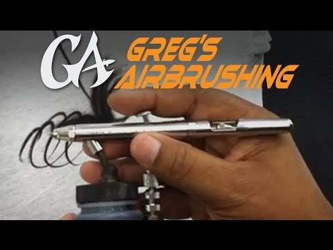 How to Hold an Airbrush for Beginners