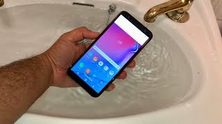 Samsung Galaxy J6 Plus - Water Test [HD]