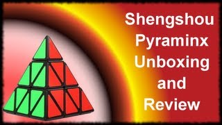 shengshou pyraminx unboxing and review