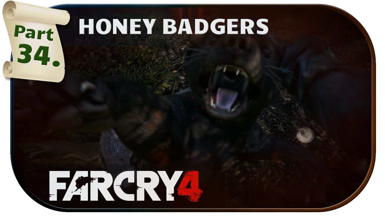 how to kill honey badger far cry