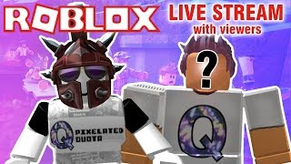 ROBLOX with viewers! | LIVE STREAM {EPISODE 39}