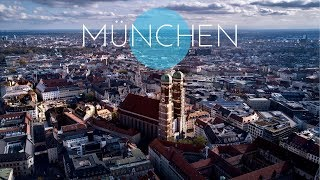 München - Munich - Bavaria - Germany - Summer & Winter - Cinematic - Drone Footage
