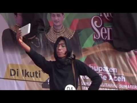 Lomba Cagok Aceh Krong Aneuk Nanggroe di Festival Sabang Fair 2016