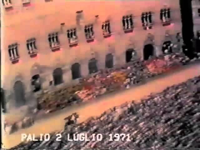 Palio 2 luglio 1971