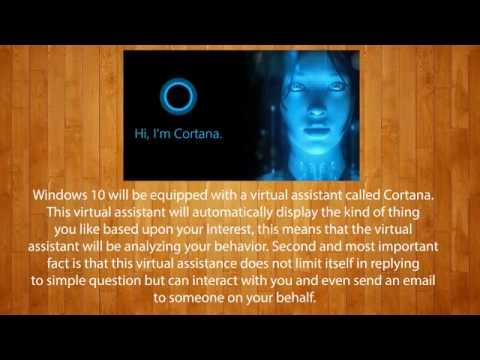 Windows 10 Cortana Horus Microsoft Corporation