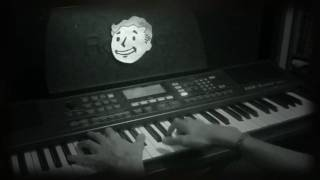 Fallout: New Vegas  trailer on piano (