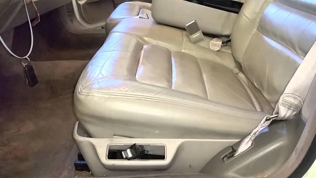 Bk1345 1995 Cadillac Deville Driver Side Front Seat