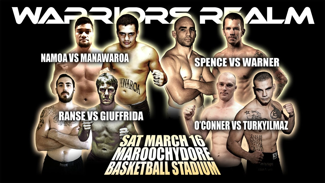 WARRIORS REALM 2013 Sunshine Coast Return! FIGHTER PRE EVENT CLIPS AND INTERVIEWS  sc 1 st  YouTube & WARRIORS REALM 2013 Sunshine Coast Return! FIGHTER PRE EVENT CLIPS ...