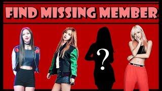 K-Pop Game #140 FIND THE MISSING KPOP GROUP MEMBER !!!