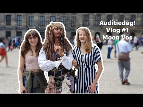 Auditionday !!! - Vlog #1 - Moon Vos [ENGLISH SUBTITLES]