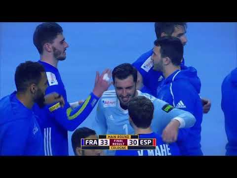 France 33:30 Spain (Main Round) | IHFtv - Germany Denmark 2019