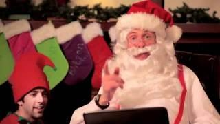"""Ông già Noel hát nhạc Rap """"khoe"""" tính năng của Google.flv"""