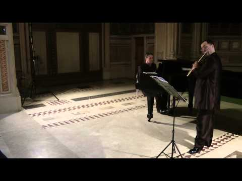 Johannes Brahms - Lullaby - Op.49 No.4 Wiegenlied- Claudio Ferrarini  Riccardo Sandiford