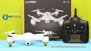 JJPRO X3 HAX Review: Unboxing, test flight | FirstQuadcopter.com