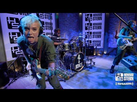 "Bones UK Cover ""I'm Afraid of Americans"" in Howard Stern's Studio"