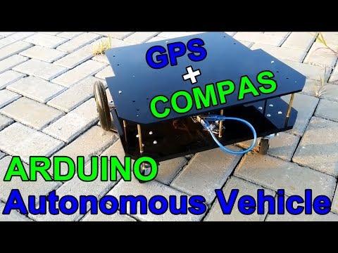 [SOURCE CODE] Arduino Powered Autonomous Vehicle Waypoint GPS - Arduino Project