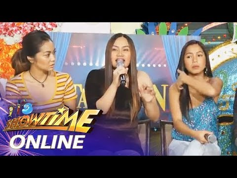 It's Showtime Online: Denden Taiño wants to be a courtside reporter