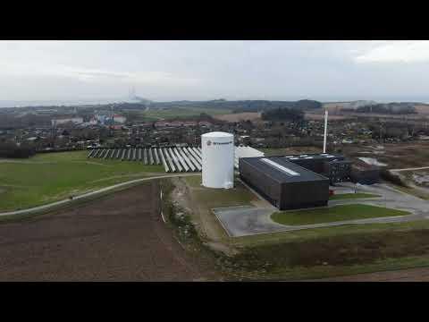 Solpaneler for 400.000 kr. smadret hos SK-Forsyning i Korsør
