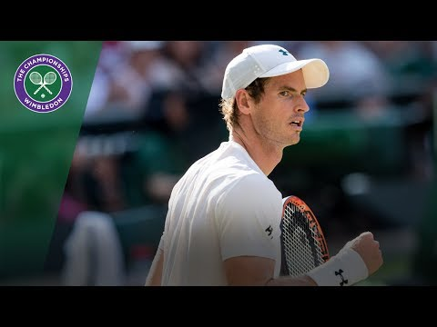 Andy Murray v Dustin Brown highlights - Wimbledon 2017 second round