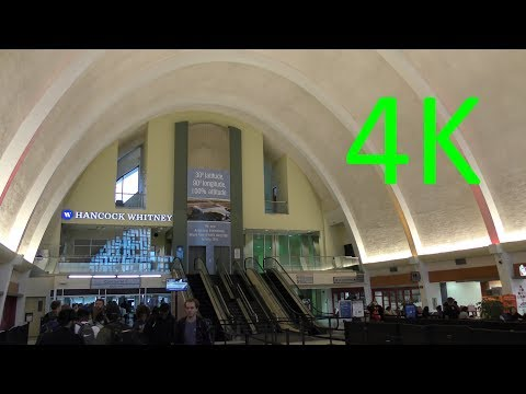 A 4K Tour Of Louis Armstrong New Orleans International Airport (MSY)