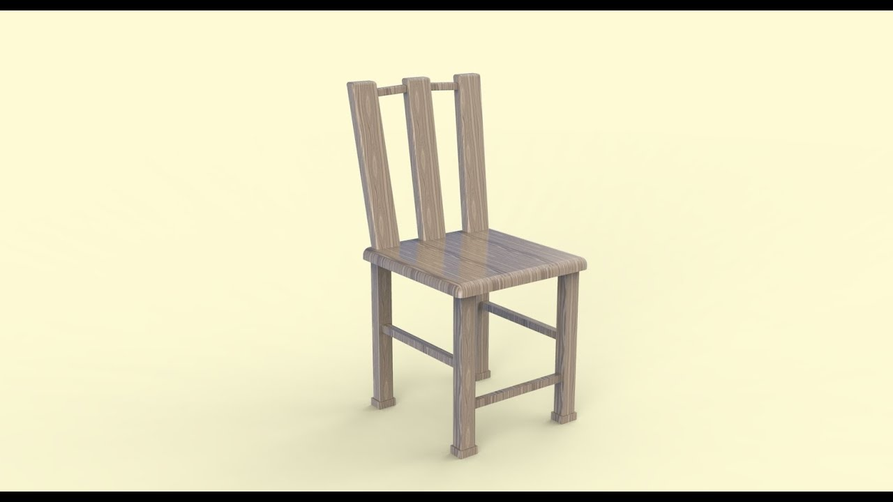 How To Make A Chair In SketchUp