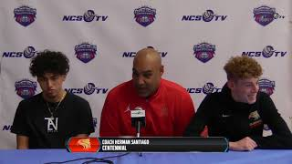 Centennial High School Post Game Press Conference - Central Valley Showdown 1/5/19