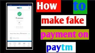 Paytm Fake Payment Generator Apk