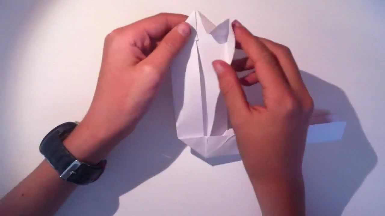 faire un boomerang en origami jeu en papier youtube. Black Bedroom Furniture Sets. Home Design Ideas