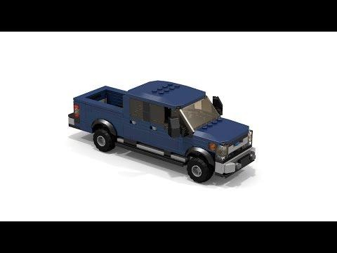 LEGO Ford F-350 Crew Cab MOC Tutorial