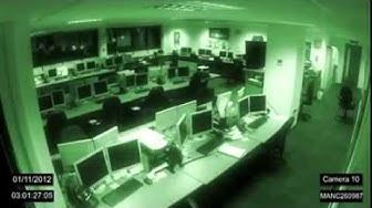 Fantasmi In Ufficio (Video Reale)