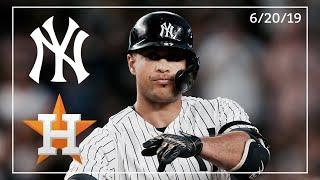 Houston Astros @ New York Yankees | Game Highlights | 6/20/19