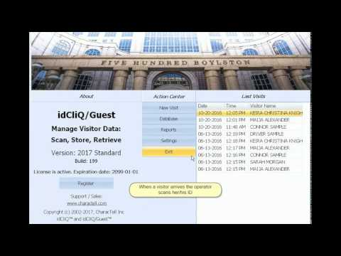 idCliQ/Guest - Visitor management system