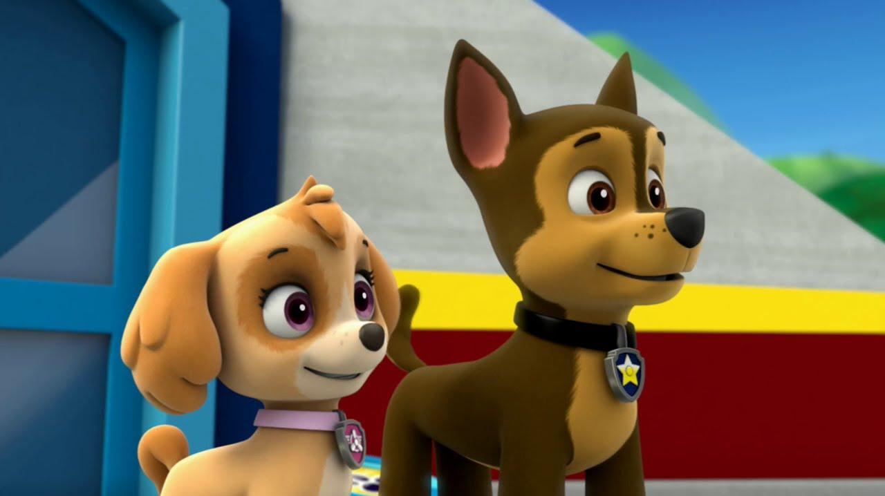 онлайн   смотреть мультик щенячий патруль