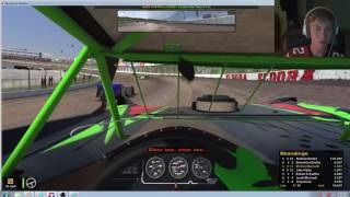 First Dirt Pro Late Model Race : iRacing