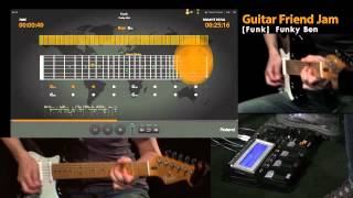 Roland Guitar Friend Jam Demo #3; Funk
