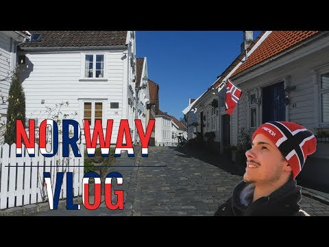 SOLO TRAVEL TO STAVANGER! - Beautiful White City - Norway Vlog #6