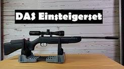 Preiswertes Luftgewehr Set - Weihrauch HW30K + Hawke Vantage 2-7x32