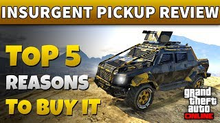 GTA Online Insurgent Pickup Custom   IS INSURGENT PICK UP WORTH IT? (GTA 5 Online Review)