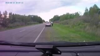 Курганских водителей обманывают «туристы»